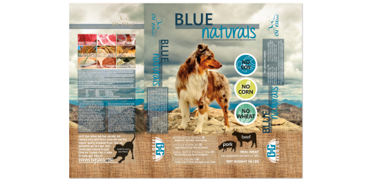 Blue Naturals|Packaging